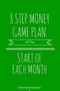 8 Step Money Game Plan