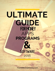 Confused about which money apps to download? Check out my Ultimate Guide for Money Apps 2016 and put your money habits on auto-pilot.