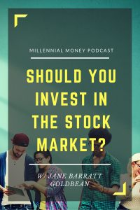 In this lively podcast interview, I chat with Jane Barratt, CEO of GoldBean, about why you should invest...even if you only have a little to invest.