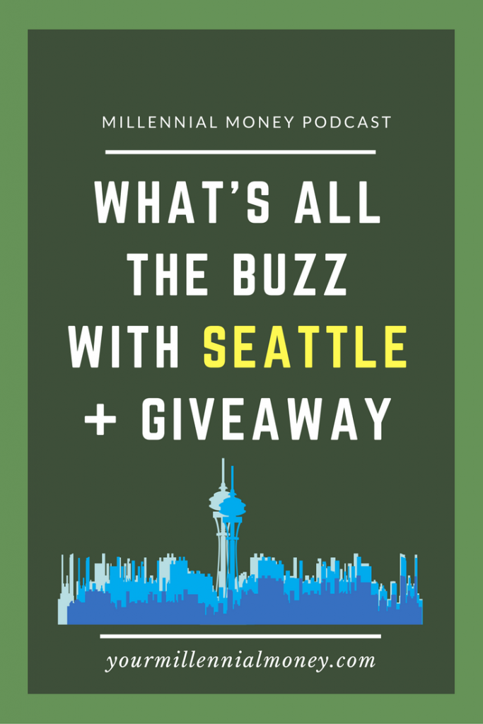 Seattle is an awesome millennial destination and we're dishing a few reasons why we love Seattle + we've got a great giveaway.