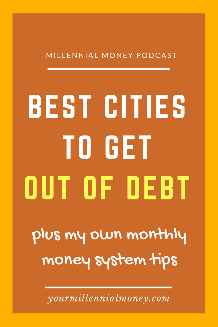 Best Cities to Get Out of Debt
