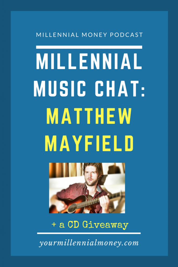 Check out the smooth sounds of this millennial music hit, Matthew Mayfield.