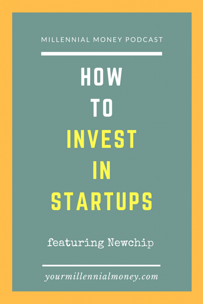 Investing in startups isn't only reserved for the experts on Shark Tank - with Newchip you can now invest in startups with as little as $100 a month.