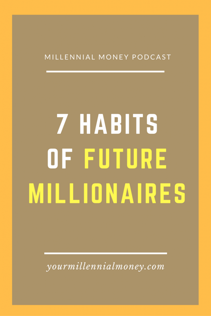Being a millionaire is about more than however much money you have in your bank account. It's about a money mindset and good habits that help you be productive and achieve your goals.