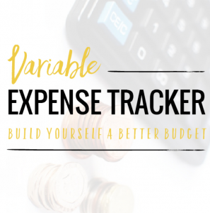 Variable Expense Tracker