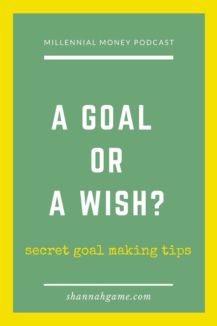 One of the secrets to success is having written down goals because a goal that isn't written down is merely a wish. Here are some tips to set goals that will lead to success.