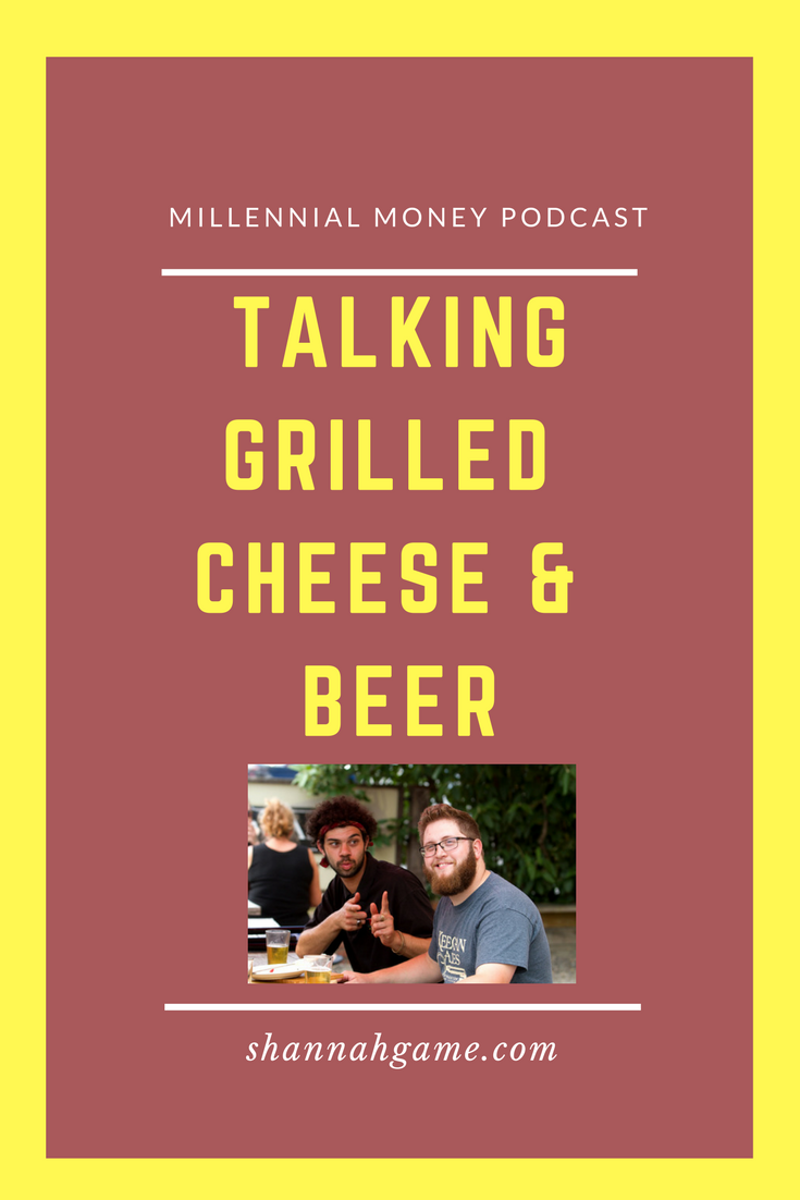 Talking Grilled Cheese and Beer