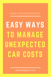 Do those unexpected car costs have your bank account crying for mercy? I've got some great tips to help you manage all those expenses, and a killer way to buy a new car without stressing yourself out.