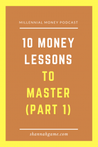 Check out the top 10 money lessons that you should master no matter your age and learn why they are so important for your future success.