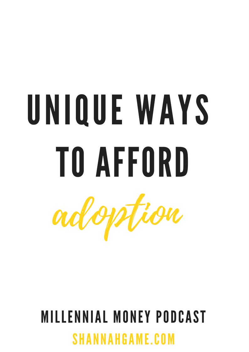 Adoption isn't cheap and for many of us that can make adoption a difficult decision. I'm sharing some tips that can help you afford adoption and start your family right away.