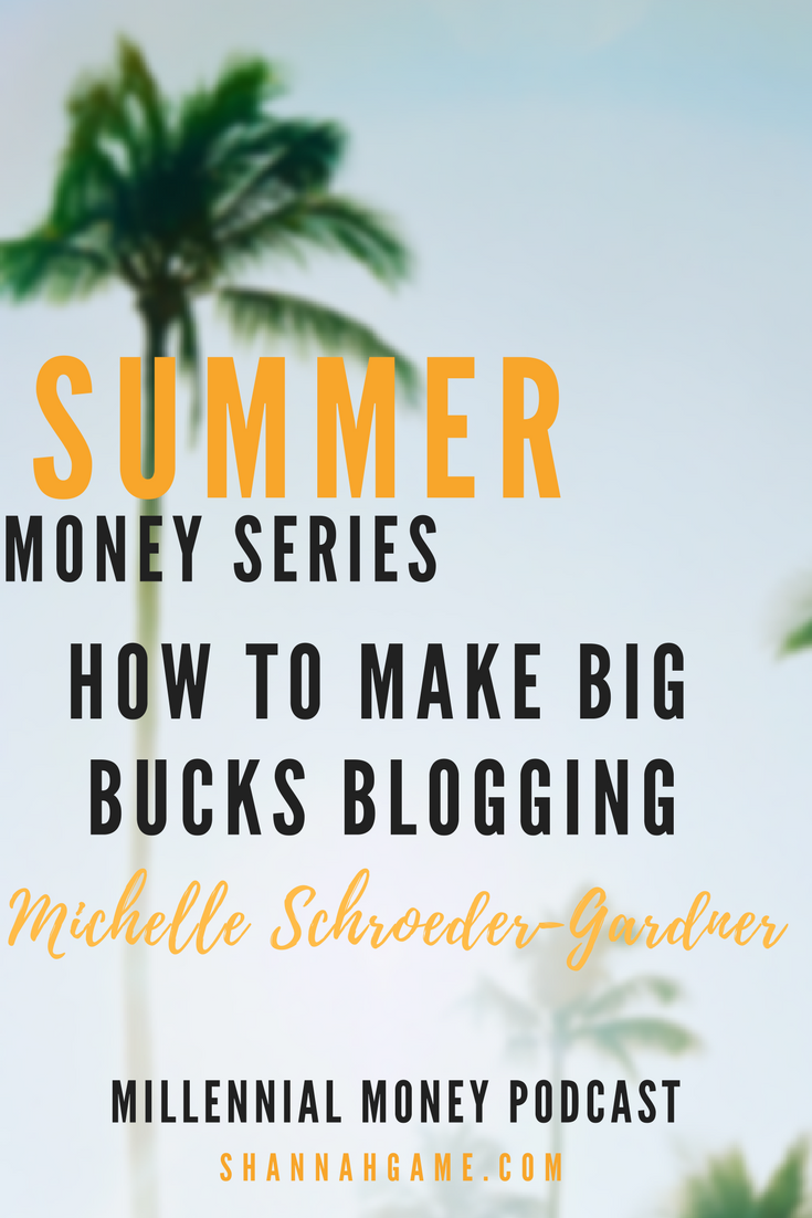 Want the inside scoop on how to make money blogging? Michelle from Making Sense of Cents is sharing her tips.