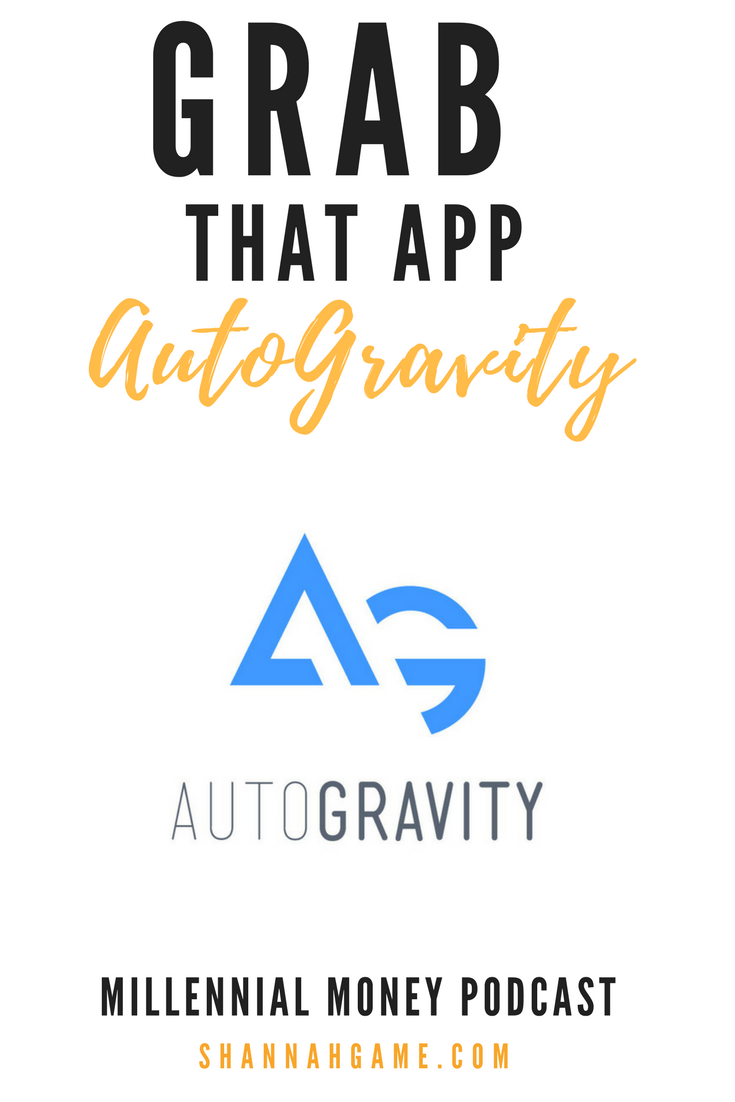 If you're shopping for a new car make sure you grab the AutoGravity app which helps you shop and apply for financing before you hit the dealership.