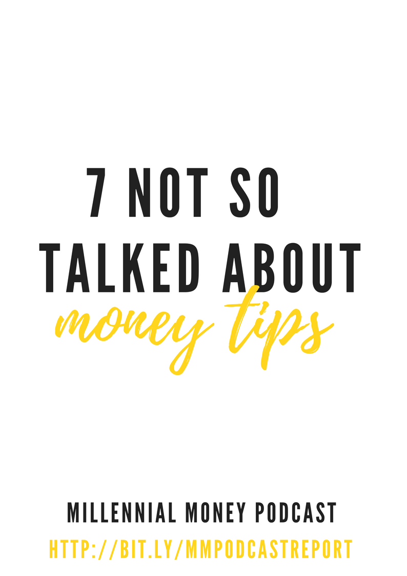 Find out money tips that aren't always talked about including your float fund and why you shouldn't publish income reports as a blogger.