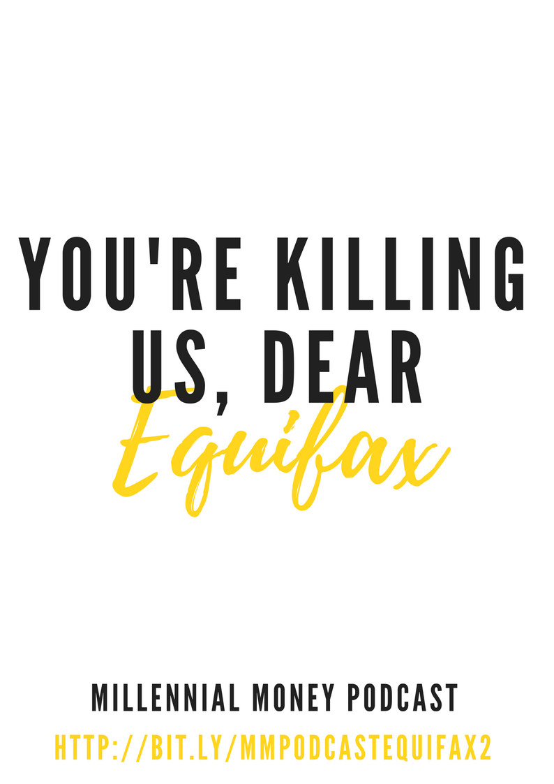 You're Killing Us, Equifax