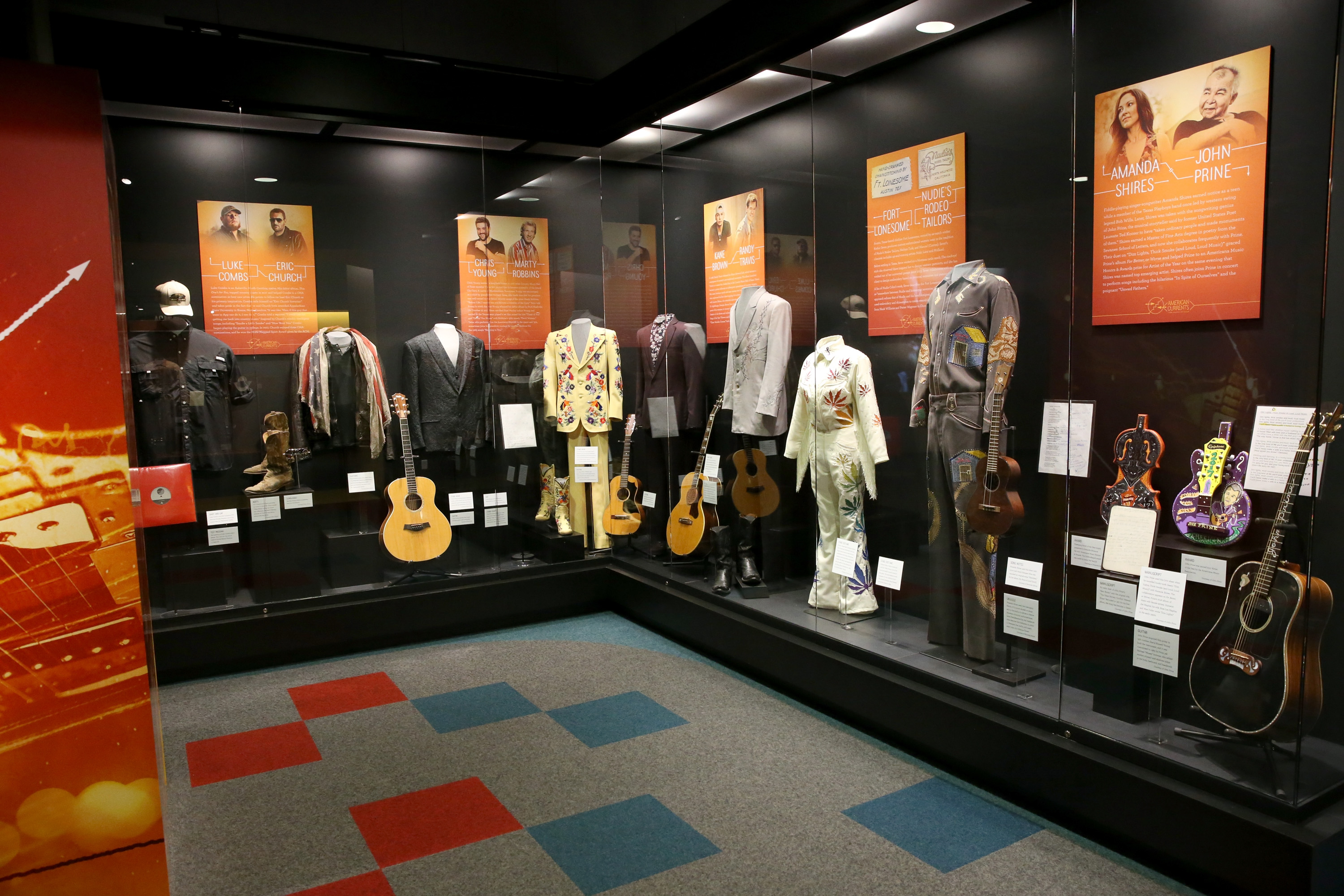 Country Music Hall Of Fame And Museum Celebrates New Exhibition American Currents: The Music Of 2017