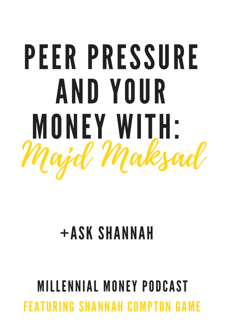 Peer Pressure and Your Money