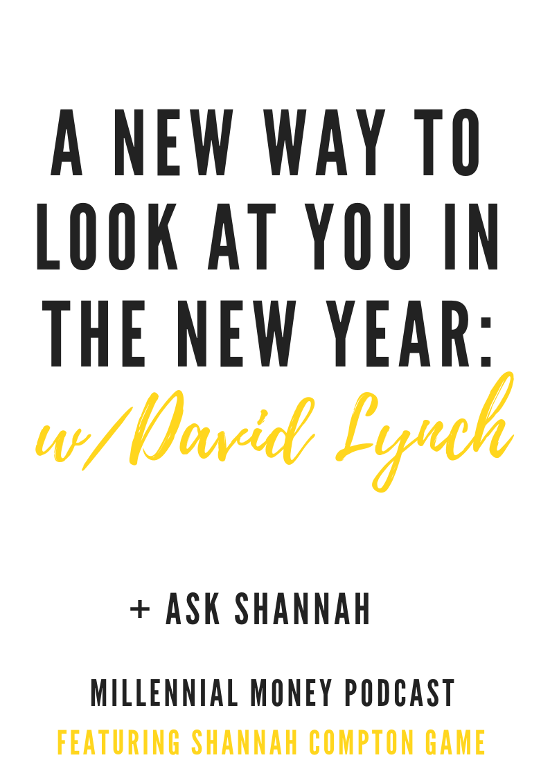 A New Way to Look at You in the New Year with David Lynch