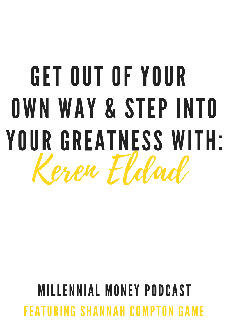 Get Out Of Your Own Way & Step Into Greatness