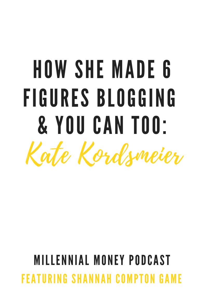 How She Made Six-Figures Blogging + You Can Too