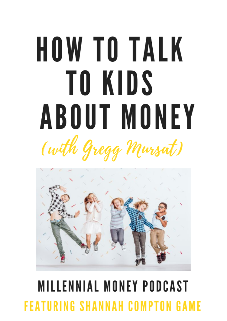 New podcast episode about how to talk to your kids about money