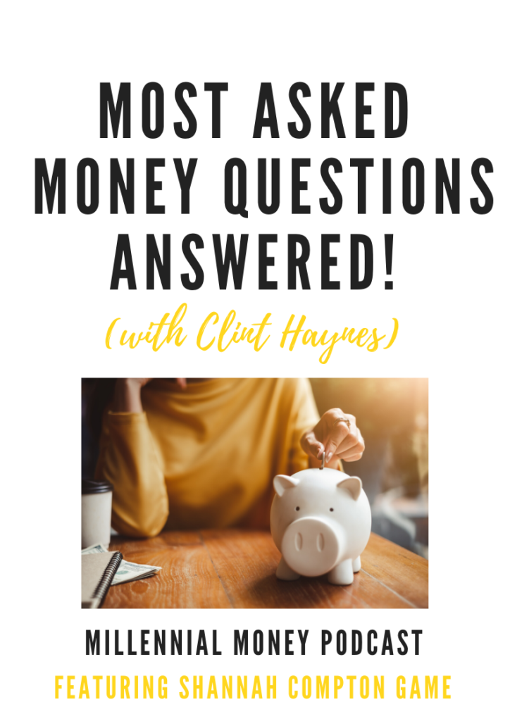 New podcast episode answering the most asked money questions
