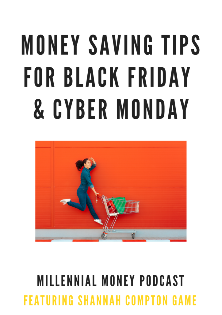 money saving tips for black friday and cyber monday