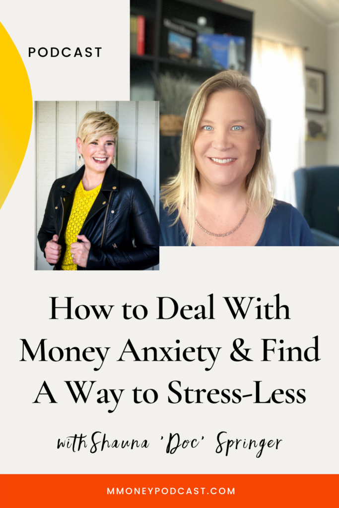 How to deal with money anxiety and create solutions to stress-less.